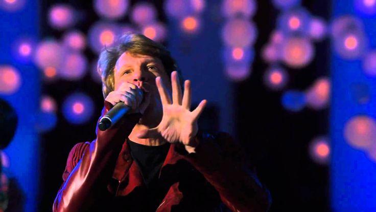 Jon Bon Jovi & Lea Michele - Have A Little Faith In Me (New Year's Eve Movie