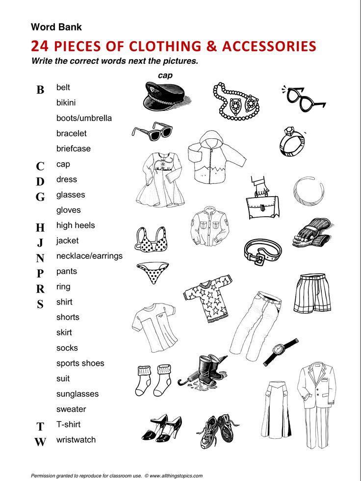 Clothing and Fashion, Clothes, vocabulary, ESL, English phrases…