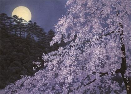 東山魁夷 宵桜