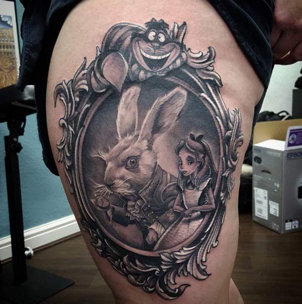 25+ best ideas about Wonderland tattoo on Pinterest