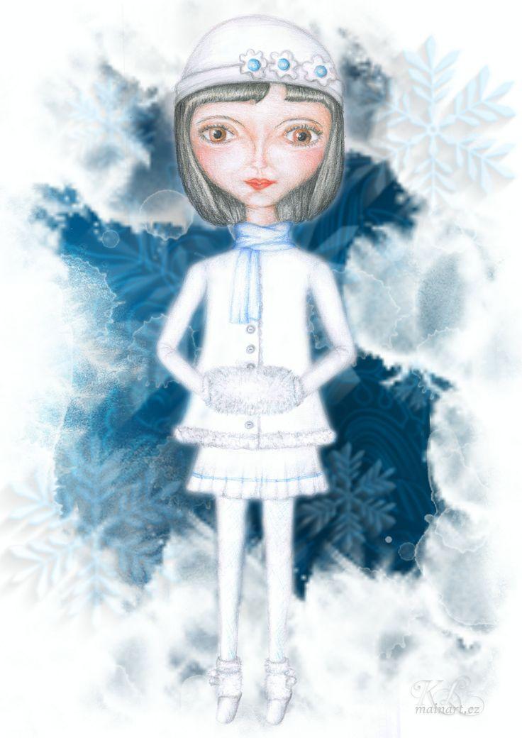 zimní víla