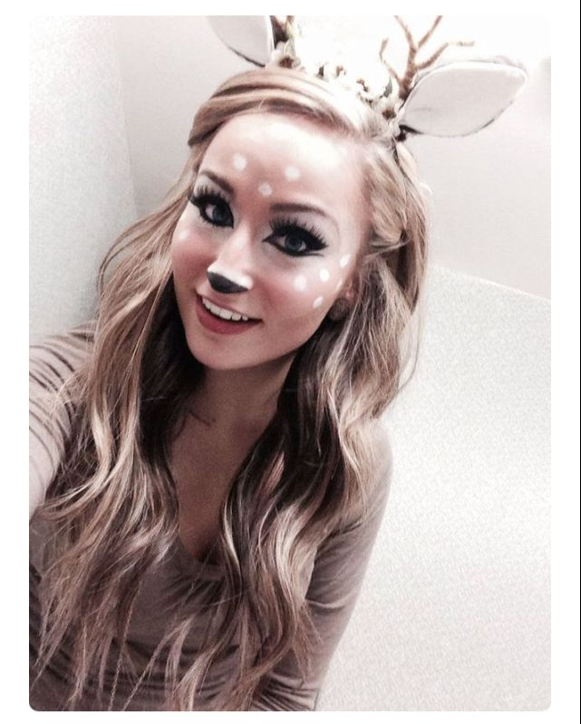 The deer antler headband