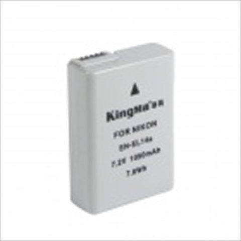 Kingma EN-EL14a Full-Decoded 1050mAh Li-on Battery for Nikon D5300 Df D5100 P7800