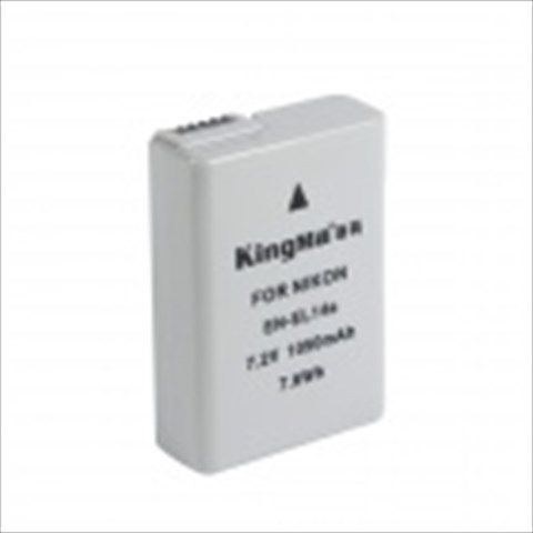 Kingma EN-EL14a Full-Decoded 1050mAh Li-on Battery for Nikon D5300 Df D5100 P7800