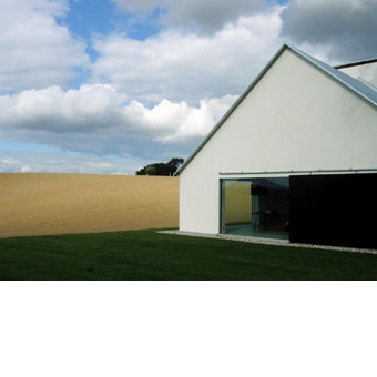 Baron House: john pawson minimal barn/house architecture in the landscape