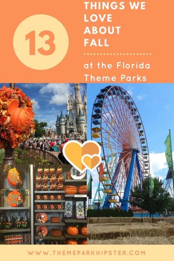 Things to do in the Fall at Florida Theme Parks: Enjoy Halloween Horror Nights, Mickey's Not-So-Scary Halloween Party, fall treats, and more!