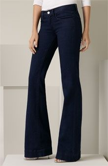Ralph Lauren Black Label '755' Flare Leg Stretch Jeans - ...