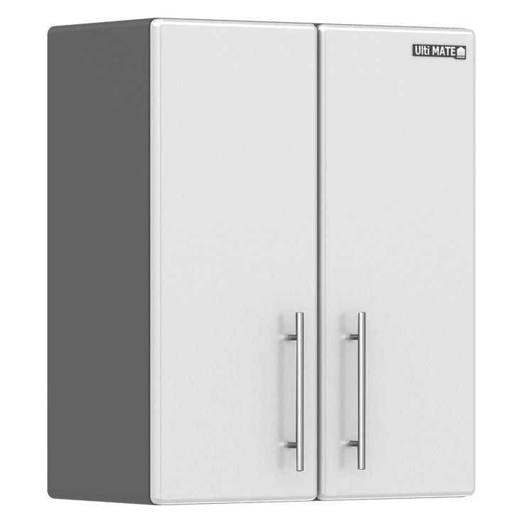 Ulti-MATE Starfire Pearl 23.5 in. Garage Wall Cabinet with Adjustable Shelf | from hayneedle.com