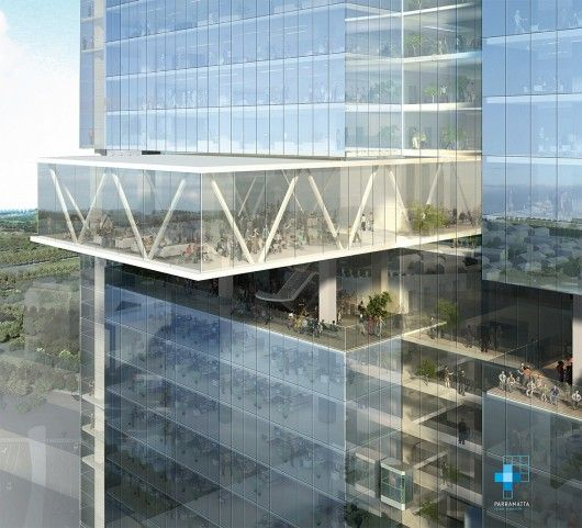 The Parramatta City Council by Sydney firm Johnson Pilton Walker