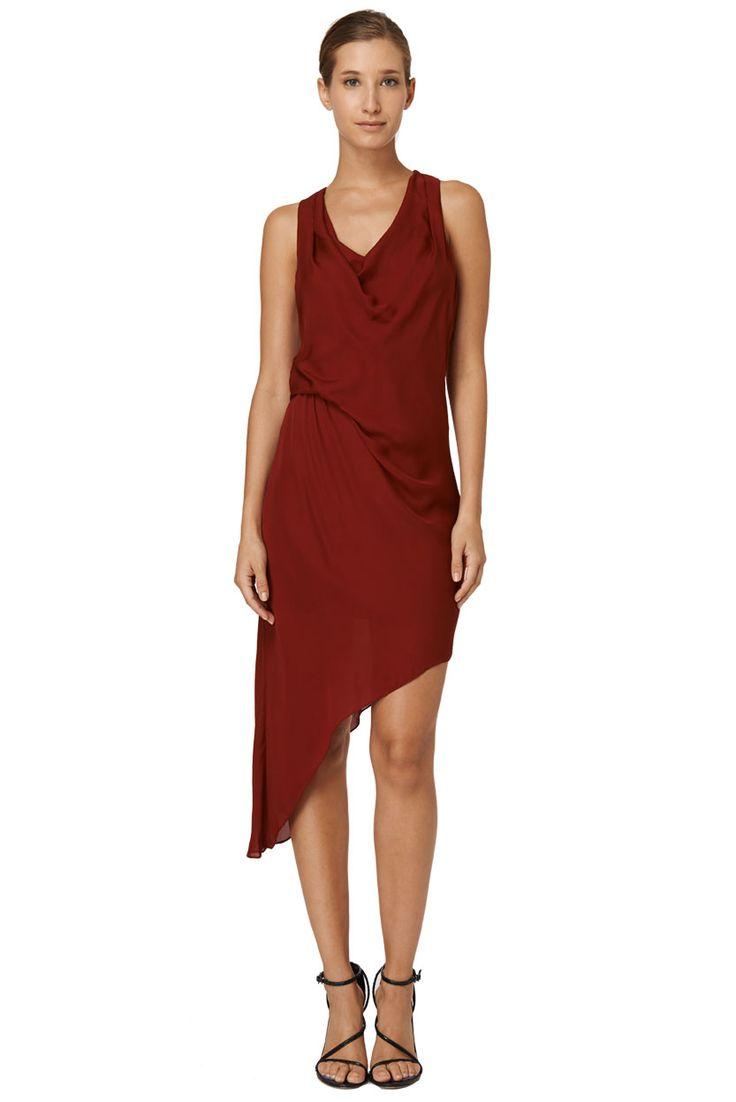 Sleeveless Asymmetric Side Tuck Dress $485 Shop Now: http://www.hautehippie.com/webstore/shop/new-arrivals/asymmetric-side-tuck-dress.html