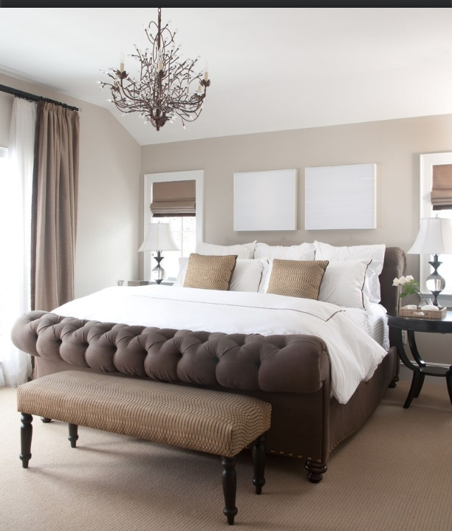 Beautiful king size bed love the simple