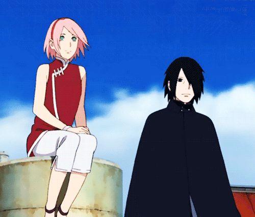 #Sasuke #Sakura <3 - -Boruto Naruto The Movie ^^