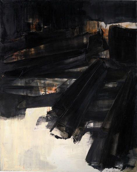 Pierre Soulages, Peinture, 1961