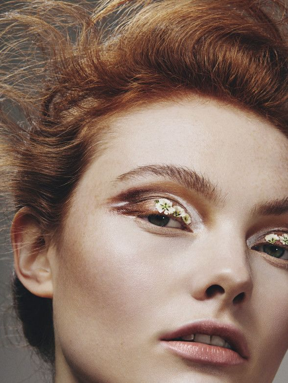 Georgie Hobday by Mike Blackett beauty makeup
