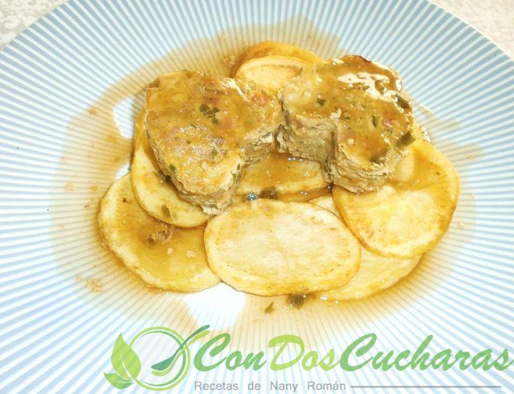 ConDosCucharas.com Pastelitos de carne picada en salsa - ConDosCucharas.com
