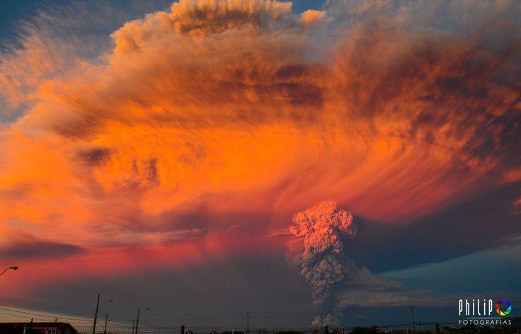 PHOTOS. Volcan Calbuco au Chili: les incroyables images de l'éruption