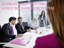 Worlds First Multiple-Voice Recognition Recorder conferences\meetings automatic Voice to Text System