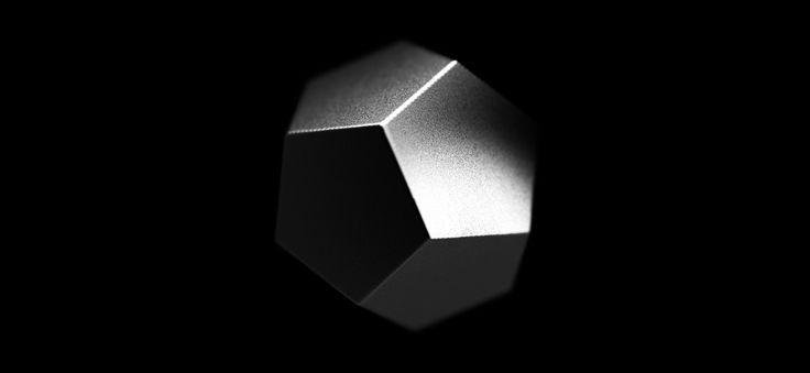 Copernicus Festival 2014 on Behance Copernicus Festival / Dodecahedron generative art / 3D