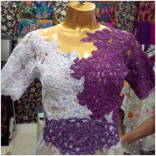 White purple lace modifikasi