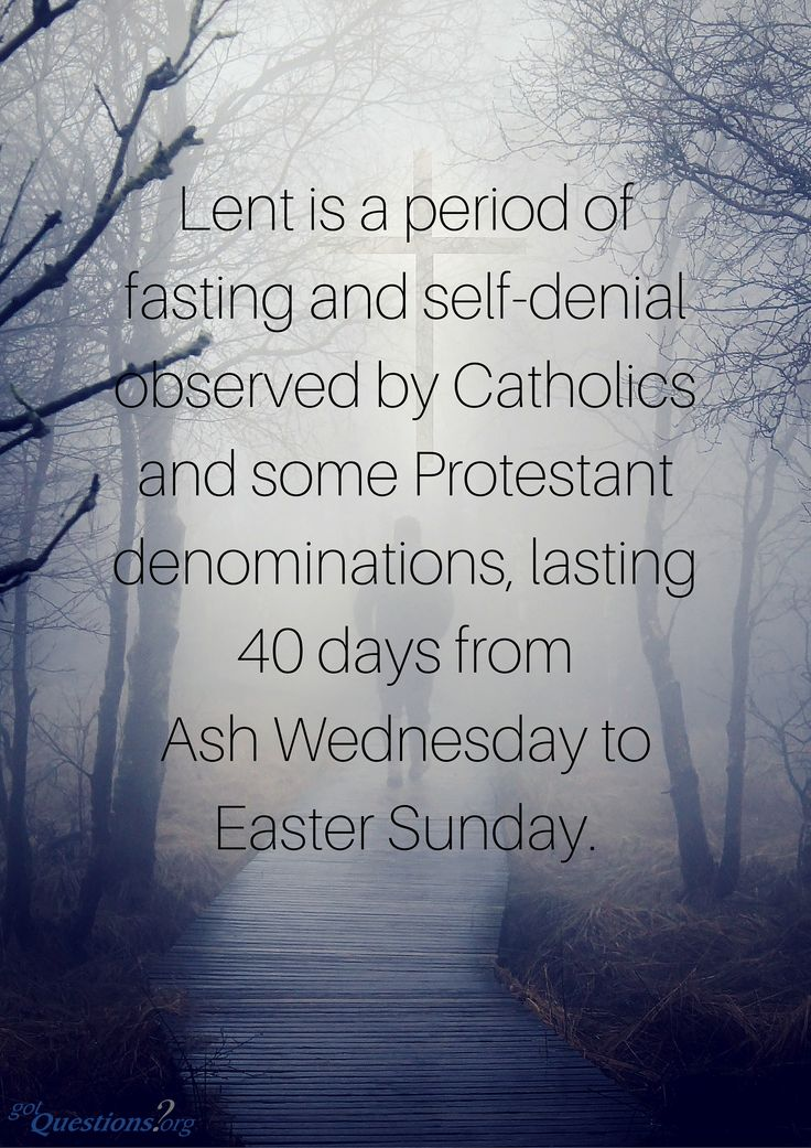 How #Lent Developed, What Its Meaning Is, And Whether We