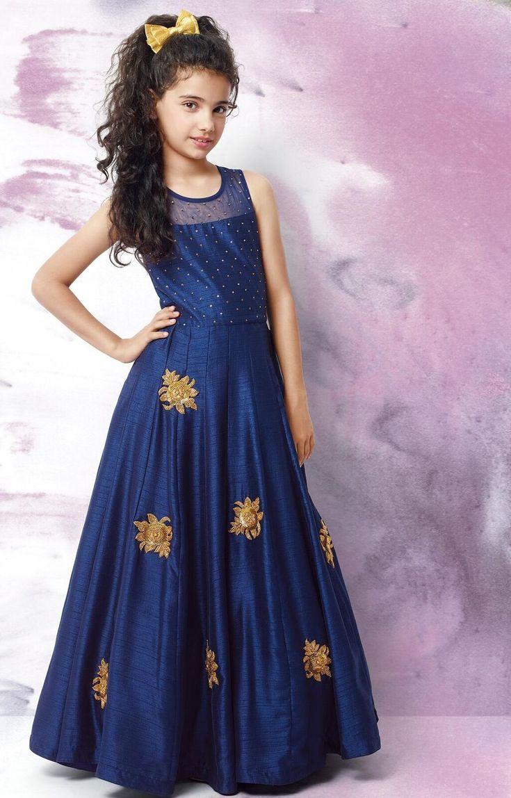 21 best Sri Varnam Kids Fashions- Designer Gowns images on ...
