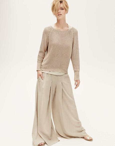 NATURAL DRESSING - knit Agave, t-shirt Action, pantaskirt Kiss, sandals Setola
