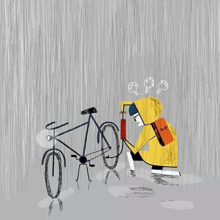 Mala suerte... (Patrick Doyon, http://patrickdoyon.tumblr.com/)