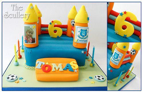 Bouncy Castle cake
