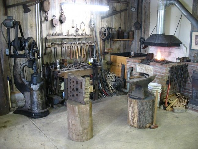 Modern Blacksmith shop