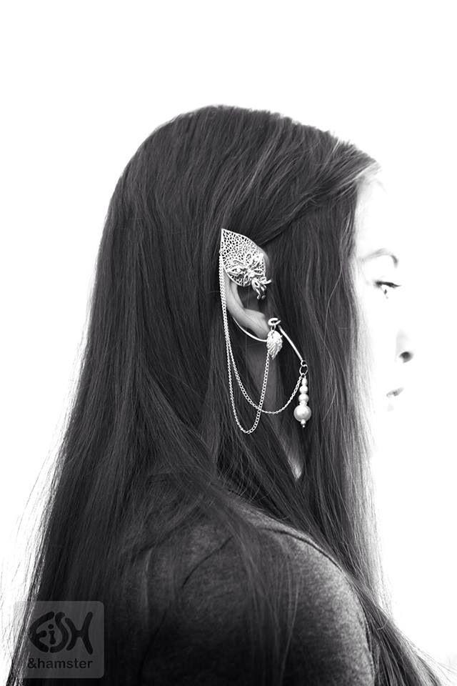 """Elven ear cuff """"Butterfly"""" just like Flitz/fairy jewellery"""
