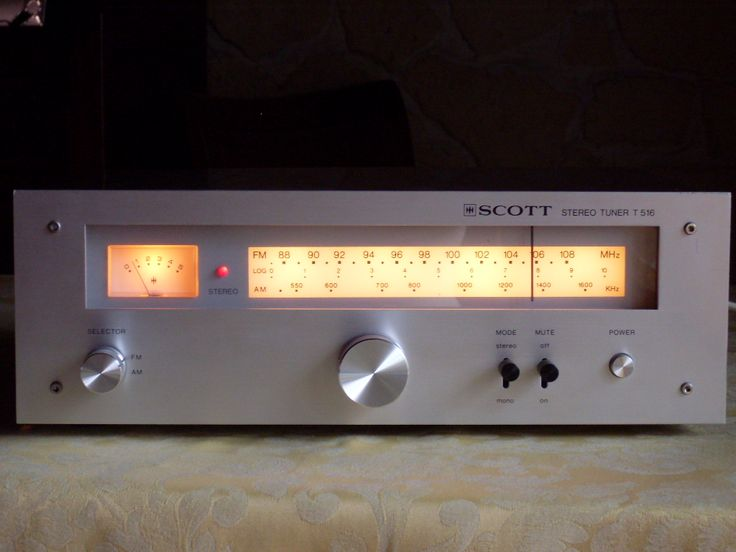 Scott Tuner T 516 Vintage Tuner Pinterest Search And