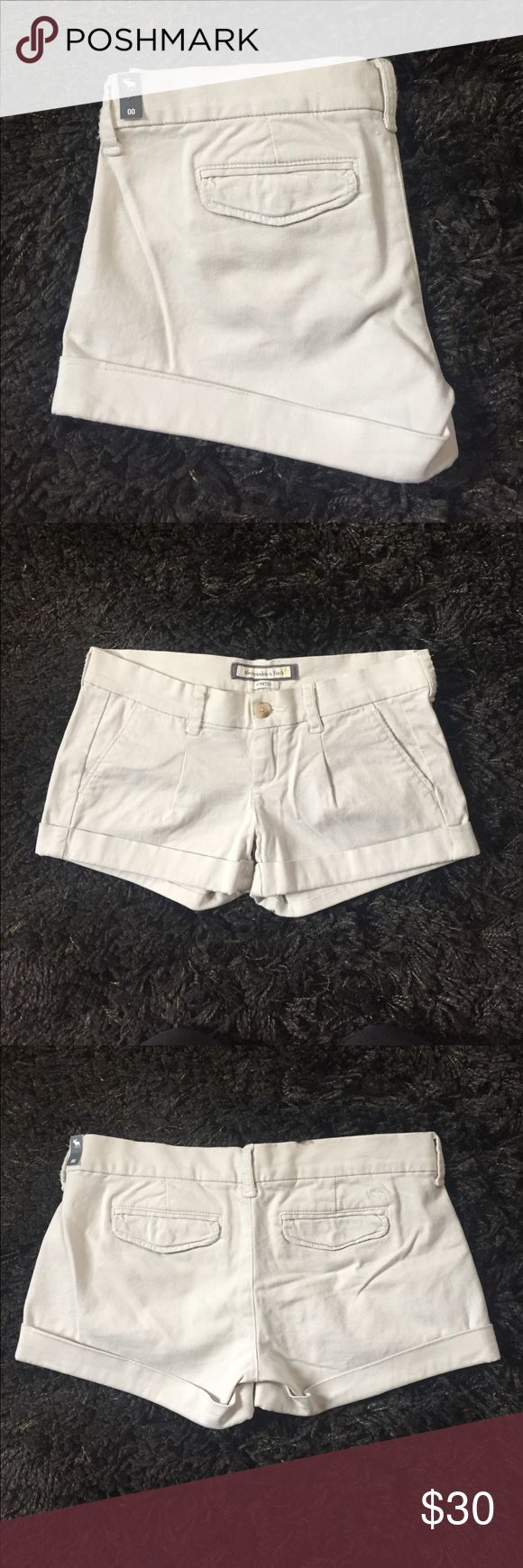 Abercrombie and Fitch Khaki Stretch Shorts Brand new with tags. Abercrombie & Fitch Shorts