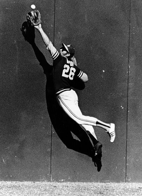 Joe Rudi - Oakland Athletics. 1972 World Series - Game 2