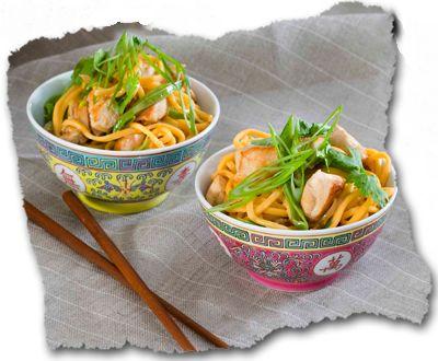 Singapore Noodle Stir Fry