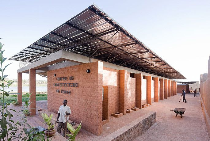 """Architecture is much more than art. And it is by far more than just building buildings"" says award winning Burkina F..."