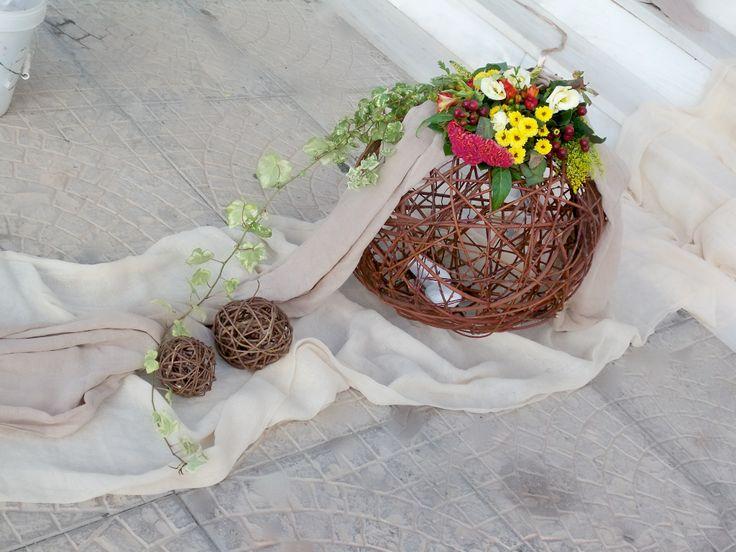#στολισμος γαμου εξωτερικος λουλουδια του αγρού
