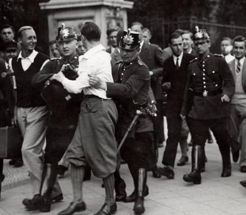 Student protests in Berlin, 1930