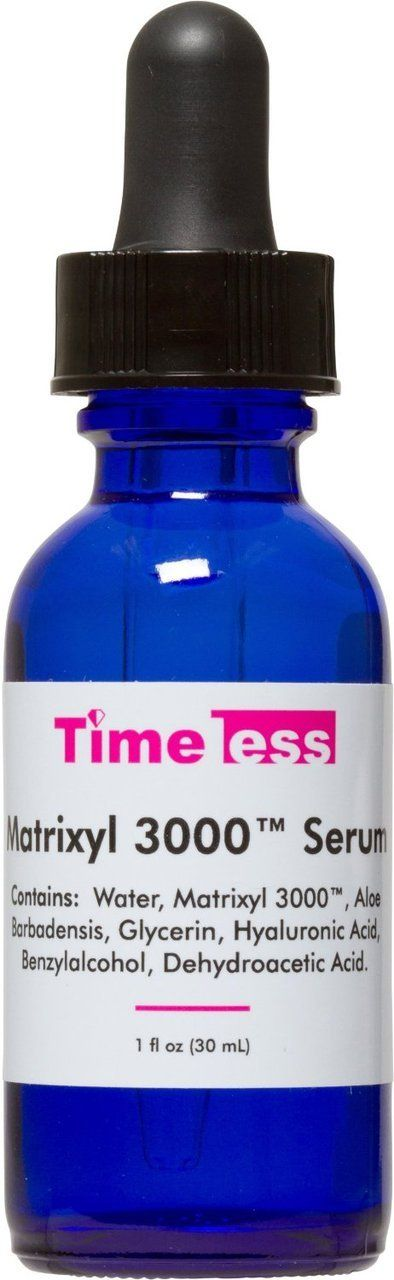 Timeless Skin Care  - Matrixyl 3000 Serum 1 oz, $22.95 (http://www.timelessha.com/matrixyl-3000-serum-1-oz/)