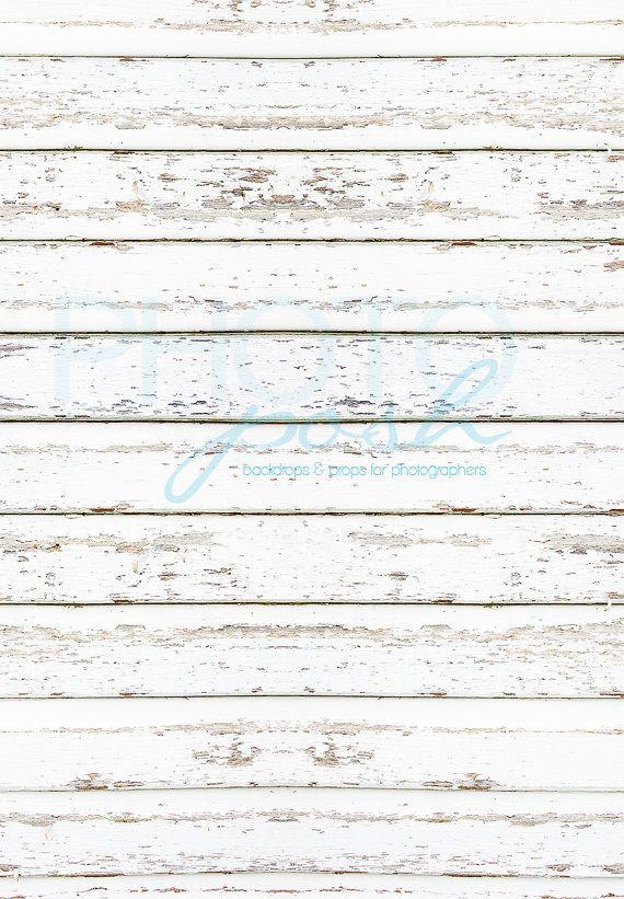 42 Quot X42 Quot Vinyl Distressed White Painted Wood Design