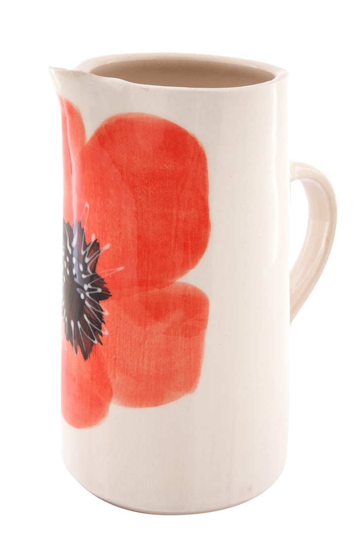 Wonki ware poppy jug from Poetry