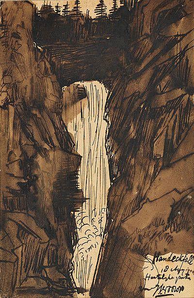 Handeckfall, Zwiss - Johannes (Jan) Theodoor Toorop | Studio 2000