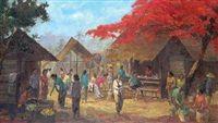 Pasar Tradisional by Sudjono Abdullah