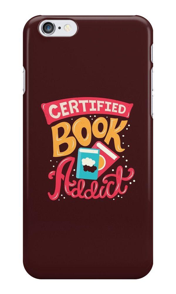 Süchtig nach Büchern? Wir können dir nicht helfen, aber wir haben diese tolle iPhone-Hülle für dich.