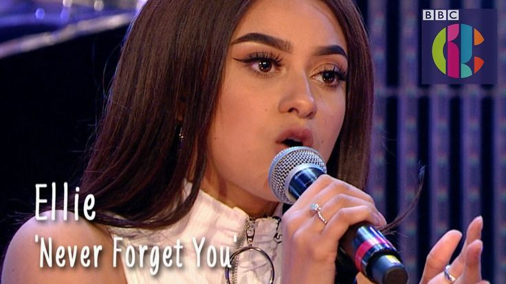 Zara Larsson 'Never Forget You' cover by Ellie | CBBC