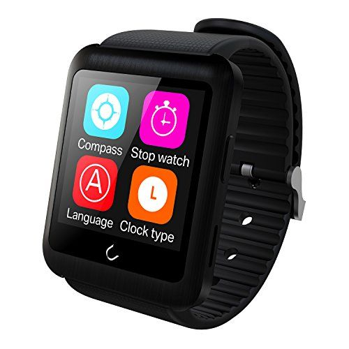 Smart Bluetooth WatchPashion First Split Design 159 Touch Screen SIM Card Supported U11 WristWatch SmartWatches Fully Compatible with AndroidIOS for iPhone 55s66ssamsungsonyhuawei  -- Be sure to check out this awesome product.