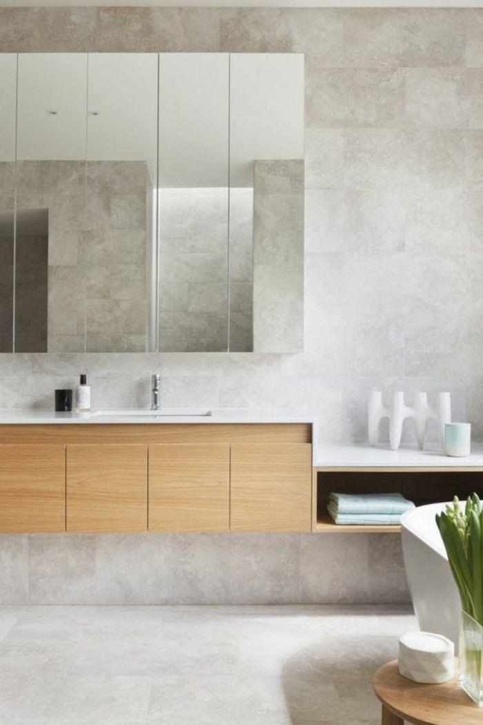 L' armoire de toilette, quel design choisir et quel matériau?