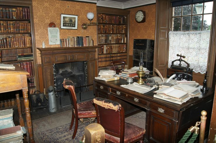 A Victorian solicitors office. Beamish museum. July 2016.