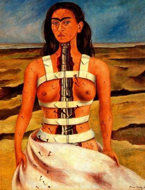 """""""Pensavam que eu era uma surrealista, mas eu não era. Nunca pintei sonhos. Pintava a minha própria realidade""""."""
