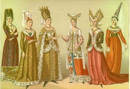 Эпоха готики костюм