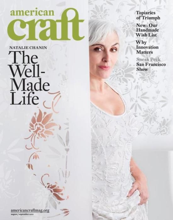 Natalie Chanin featured in American Craft Magazine! - News - Melanie Falick Books